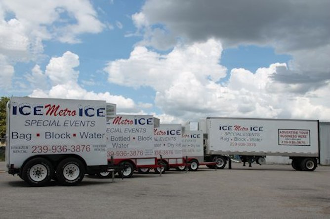 We have several trailers and can help with multiple events or locations.